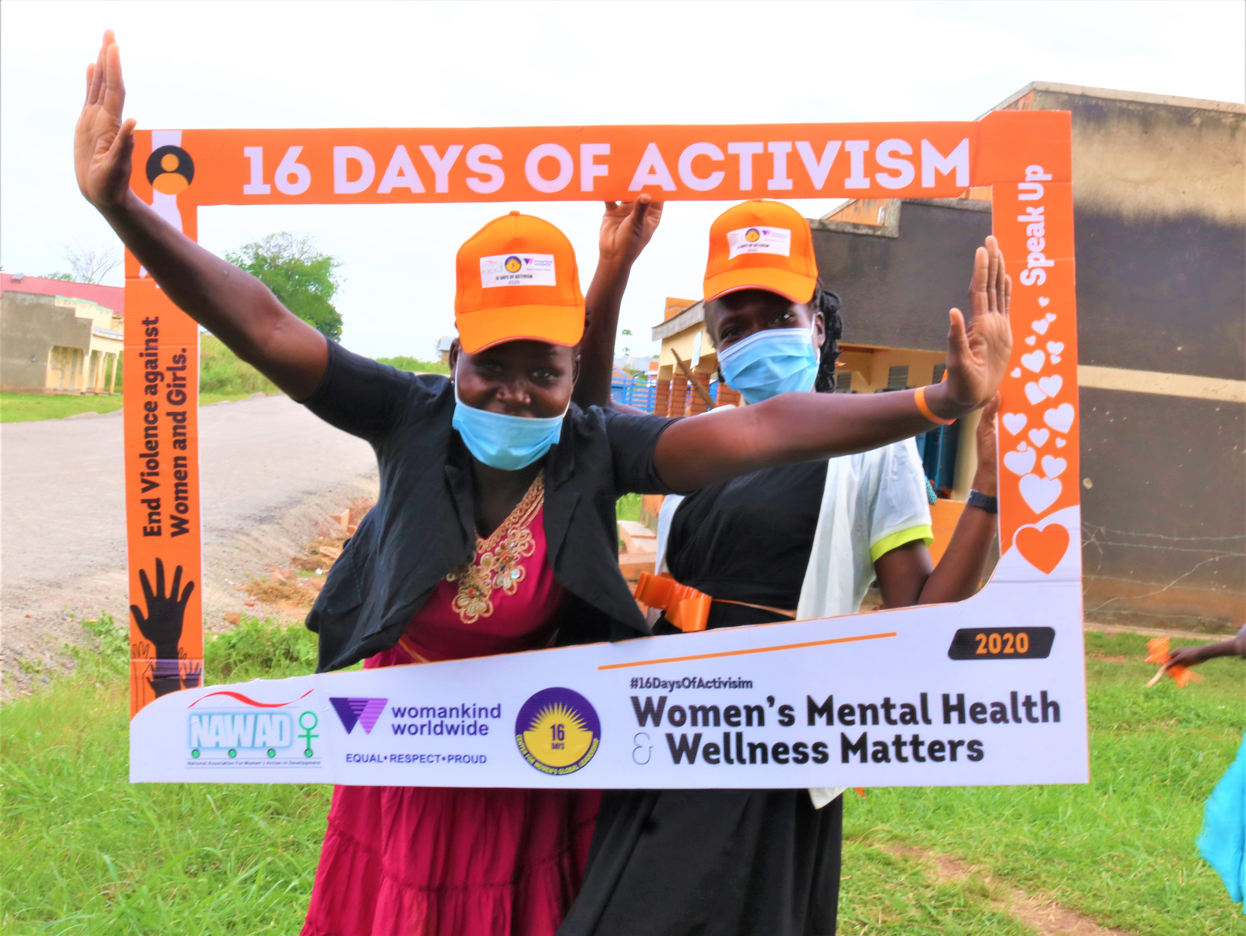 16 days of actvism campaign against GBV in Nwoya